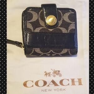 Authentic Vintage Coach Signature Wallet
